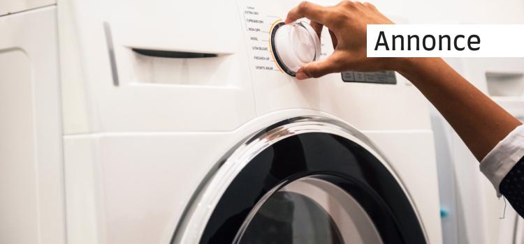Derfor skal du skifte din gamle vaskemaskine ud