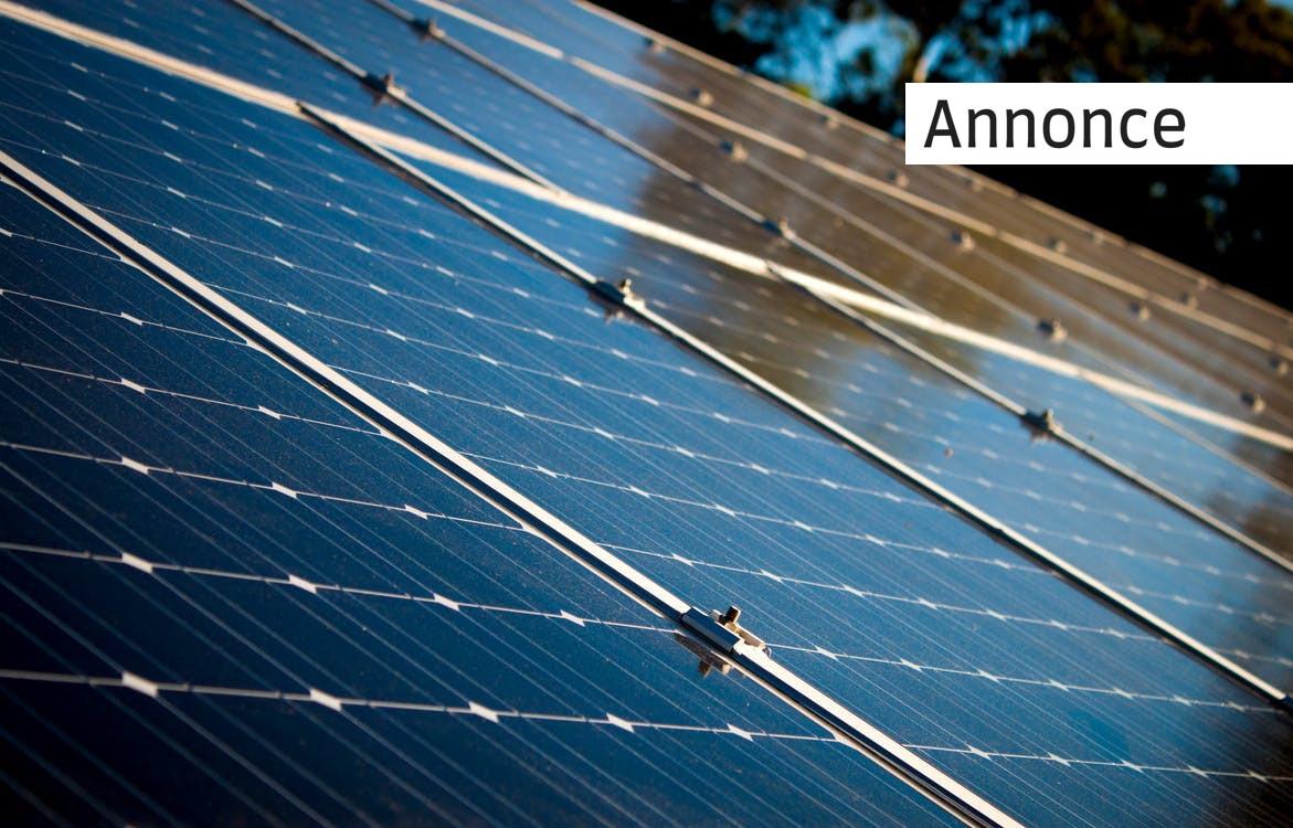 Gør dit hjem klimavenlig med solceller