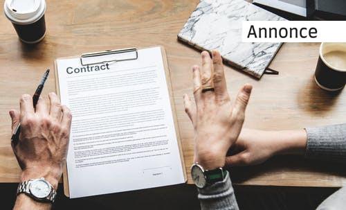 Teknologi kan hjælpe dig med dine kontrakter