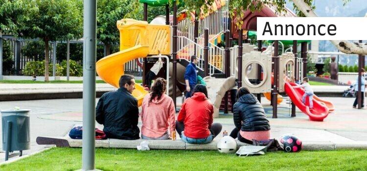 Få børnene ud i det fri hos en klatrepark