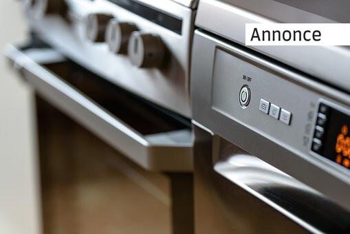 Find de bedste hvidevarer til dit køkken
