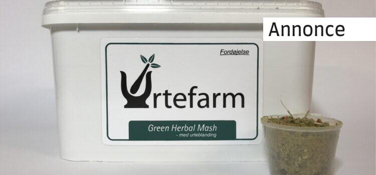 Urtefarm – innovativt og urtebaseret tilskudsfoder til din hest